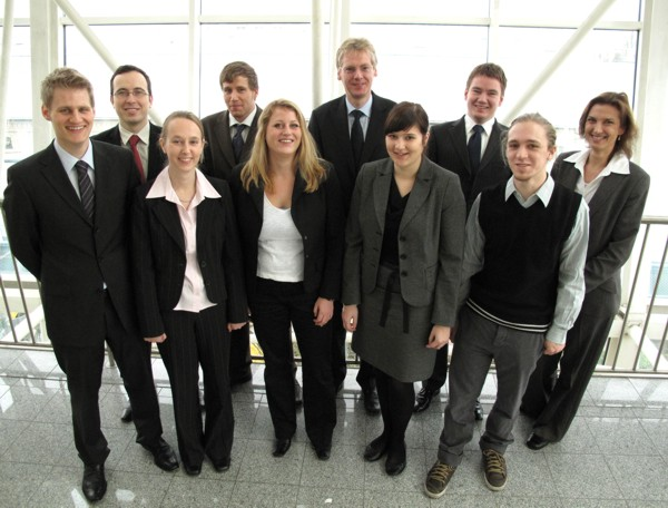 The team of logistics and supply chain management